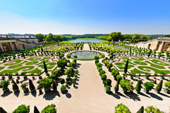 Versailles' garden, Paris, France Royalty Free Stock Photos