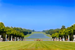 Versailles' garden, Paris, France Royalty Free Stock Photography