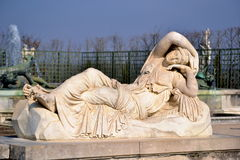 Versailles Garden Statue Royalty Free Stock Images