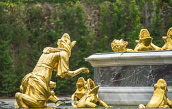 In Versailles Gardens Stock Image