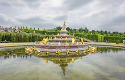 In Versailles Gardens Royalty Free Stock Image