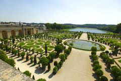 Versailles gardens France Royalty Free Stock Photography