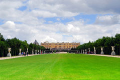 Versailles gardens and palace Royalty Free Stock Image