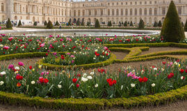 Versailles Gardens and Palace Royalty Free Stock Images