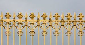 Versailles Gate Bars Royalty Free Stock Photo