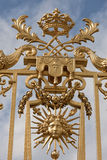 Versailles Gate Detail Stock Photography