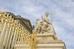 Versailles-Geländer Stockfoto