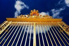 Versailles, golden gates Royalty Free Stock Image