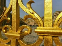 Versailles ingångsport arkivbild