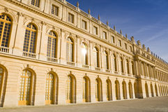 Versailles kasztel w Francja Obrazy Royalty Free