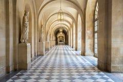 Versailles korridor Frankrike arkivfoto
