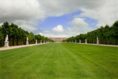 Versailles Landscape, France, Without People Royalty Free Stock Photo