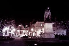Versailles night sculpture monument Stock Image