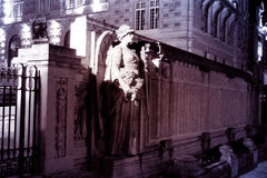 Versailles night sculpture monument Royalty Free Stock Images
