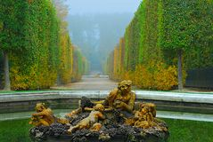 Versailles oark Royalty Free Stock Photos
