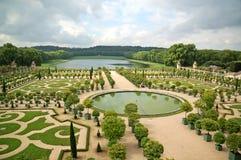 Versailles ogród Zdjęcie Stock