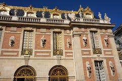 Versailles pałac Z Złocistym liściem Obraz Royalty Free