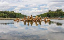 Versailles pałac ogród w Paryskim Francja Fotografia Royalty Free