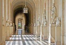Versailles Palace. Interior hallway at the Palace of Versailles near Paris Stock Images