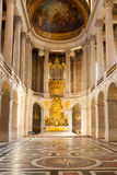 Versailles Palace Chapel. Chapel interior. The Versailles Palace Museum, France Royalty Free Stock Image