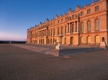 Versailles Palace at dawn Stock Image