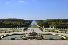 Versailles Palace, France Stock Image