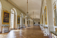 In Versailles palace galleries Royalty Free Stock Photos