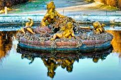Versailles Palace Gardens - France Stock Image