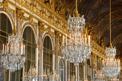 Versailles Palace in Ile de France Royalty Free Stock Photos