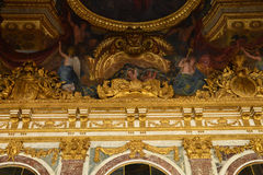 Versailles Palace in Ile de France Stock Image