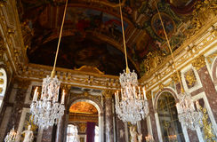 Versailles Palace in Ile de France Stock Images