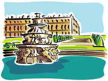 Versailles (The Palace) Royalty Free Stock Photography