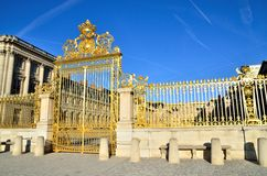 Versailles Palace in Paris, France Royalty Free Stock Image