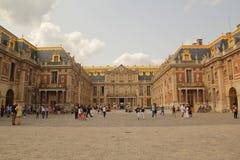 Versailles, Parijs, Frankrijk - Augustus 26,2017: Mooi kasteel met speciaal ontwerp royalty-vrije stock foto's