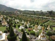 Versailles-Park in Nong Nooch Stockbilder