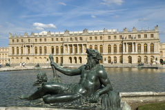 Versailles Parterre d'Eau Royalty Free Stock Photo