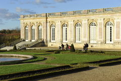 Versailles, Pleasure Palace Trianon Stock Photos