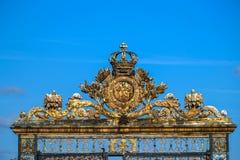 Versailles portal royaltyfri foto
