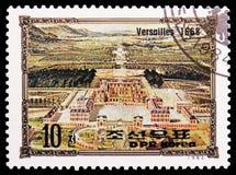 Versailles 1668, Portretten van Europese Heersers serie, circa 1984 stock foto's