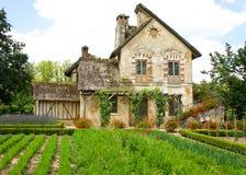Versailles Queen's Hamlet. Queen's Hamlet, Marie Antoinette's farmhouse village at Versailles, France Stock Image
