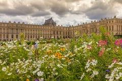 Versailles slott i Frankrike Fotografering för Bildbyråer