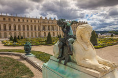 Versailles slott Paris Frankrike Royaltyfria Bilder