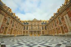 Versailles slottfasad Arkivfoton
