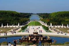 Versailles trädgårdar Arkivfoton