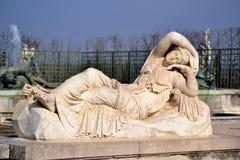 Versailles trädgårdstaty Royaltyfria Bilder