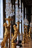Versalhes Salão dos espelhos imagens de stock royalty free
