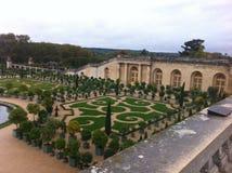 Versalles de del jardin de da vista Imagens de Stock Royalty Free