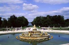 Versalles - el jardín Fotos de archivo
