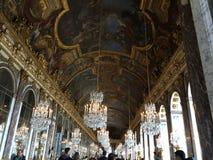 Versalles pałac dach Obrazy Royalty Free