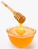 Versamento del miele Immagine Stock Libera da Diritti